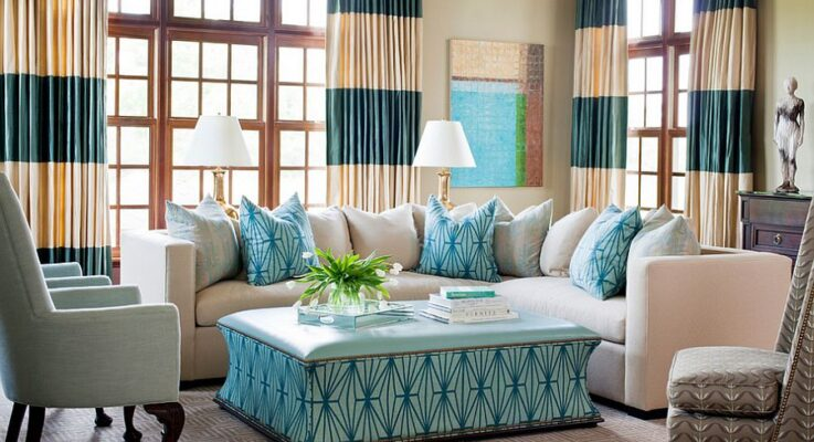 Make your home colourful with wonderful draperies